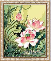 Картина по номерам MENGLEI Цветы лотоса (MG040) 40 х 50 см, фото 1