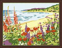 Картина по номерам MENGLEI Романтичный берег (MG206) 40 х 50 см, фото 1