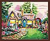 Рисование по номерам MENGLEI Сказочный домик (MG047) 40 х 50 см