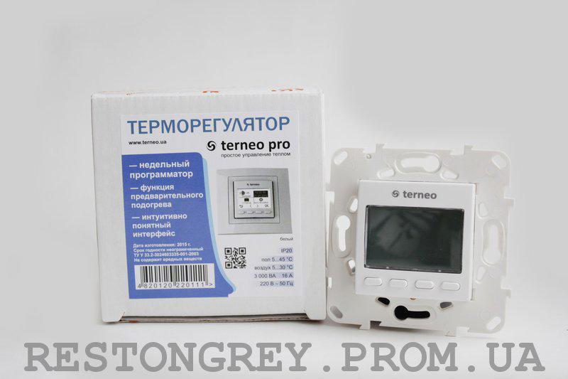 Автоматический терморегулятор Terneo pro unic