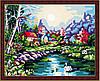 Картина по номерам MENGLEI На озере (MG107) 40 х 50 см