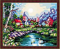 Картина по номерам MENGLEI На озере (MG107) 40 х 50 см, фото 1