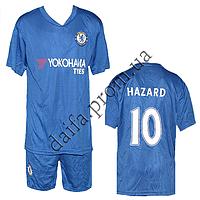 Футбольная форма R1806 ФК Челси HAZARD (6-14 лет) оптом и в розницу. Доставка из Одессы.