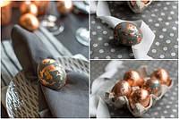 Современные способы окрашивания  традиционных пасхальных яиц.