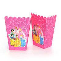 """Корзинки для попкорна """"Принцессы Дисней"""". В упак:6шт. Пр-во:Китай"""