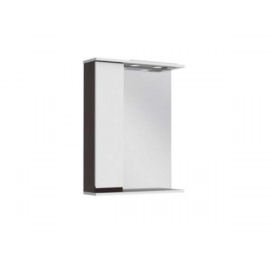 Зеркало Ювента Моника МШНЗ2-65 венге (левостороннее), 650х830х175 мм