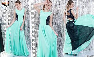 Платье женское длинноевечернее