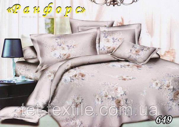Постельное белье ТЕТ Ранфорс с простынью на резинке (евро размер), фото 2