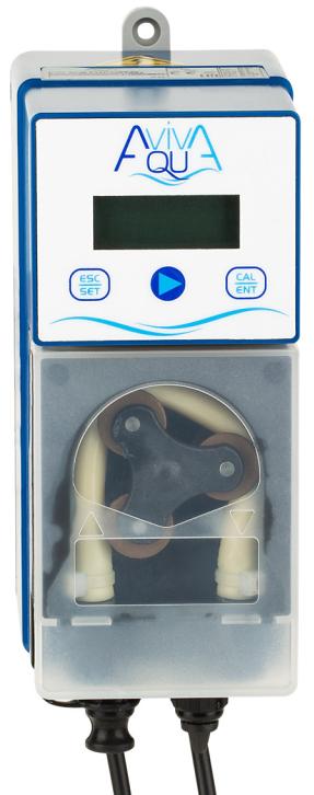 Перистальтический насос AquaViva pH/CL 1,5 л/ч (KUPH1H1HA1003) с фиксированной скоростью дозирования