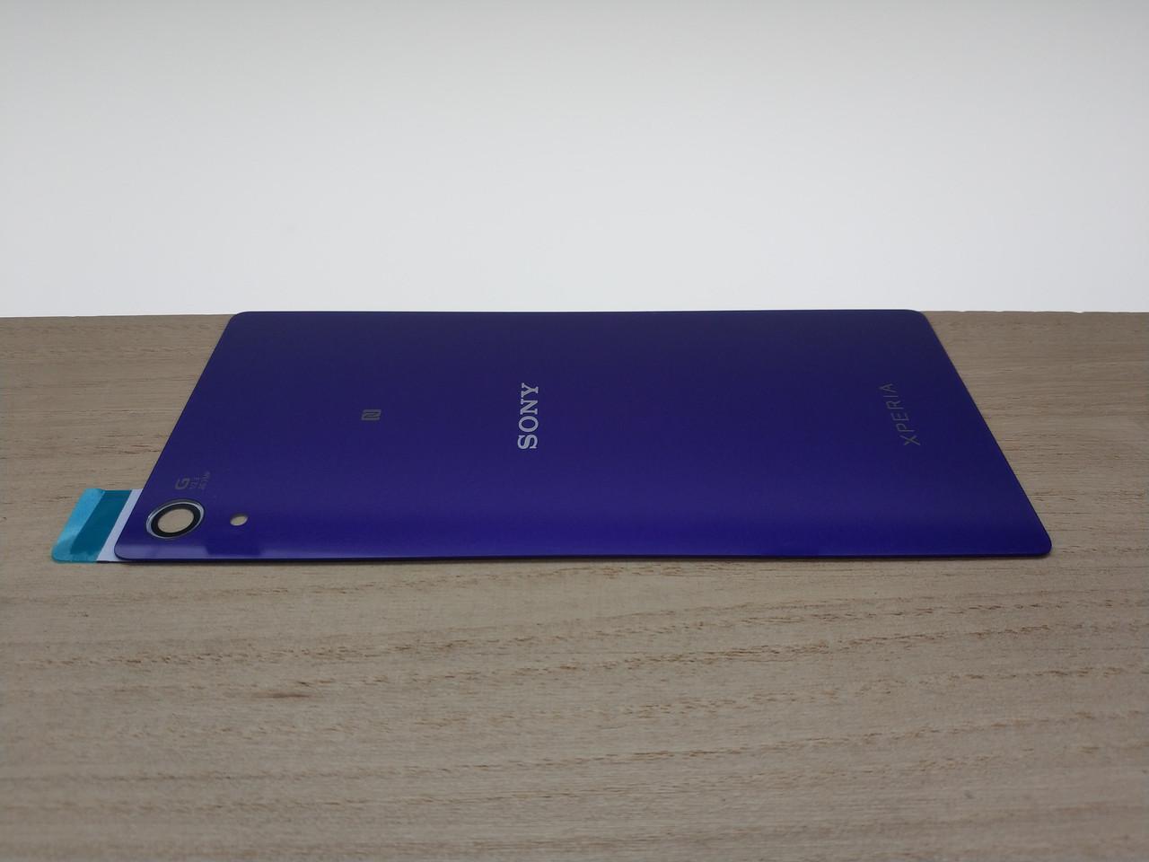 Задняя крышка Sony D6502 Sony D6503 Xperia Z2 фиолетовая