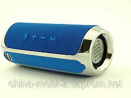 JBL FLLP3+ 6W копія Flip3+, портативна колонка з Bluetooth FM MP3, синя, фото 2