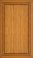 Мебельный фасад из профиля AGT 130 цвет 298 патина коричневый глянец