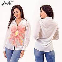 Рубашка женская Цветок № ат 3245 Гл