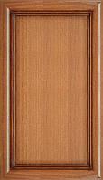 Мебельный фасад из профиля AGT 1031 цвет 242 патина коричневый глянец