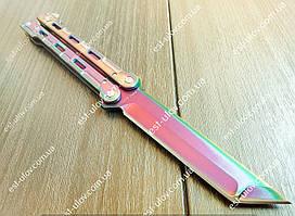 Нож бабочка балисонг Chameleon Танто