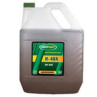 Индустриальное масло Oil right И-40А 10л