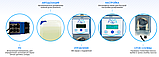 Перистальтический дозирующий насос AquaViva pH/CL 1,5 л/ч (KUPH) с автодозацией, регулируемая скорость, фото 4