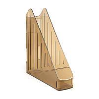 Лоток вертикальний Koh-i-noor прозорий коричневий 754122