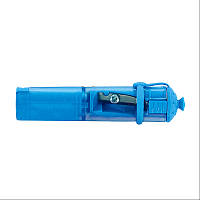 Точилка косметическая KUM с конт голубая колпачек на карандаш Cap Cosmetics blue