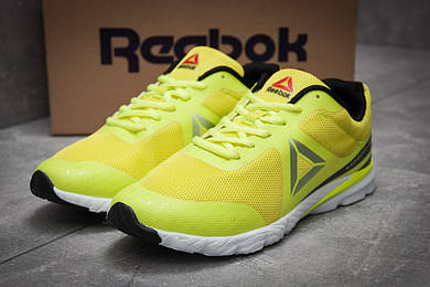 Кроссовки мужские Reebok Harmony Racer, желтые (12493),  [  44 (последняя пара)  ]