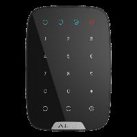 Бездротова сенсорна клавіатура Ajax KeyPad  – чорна