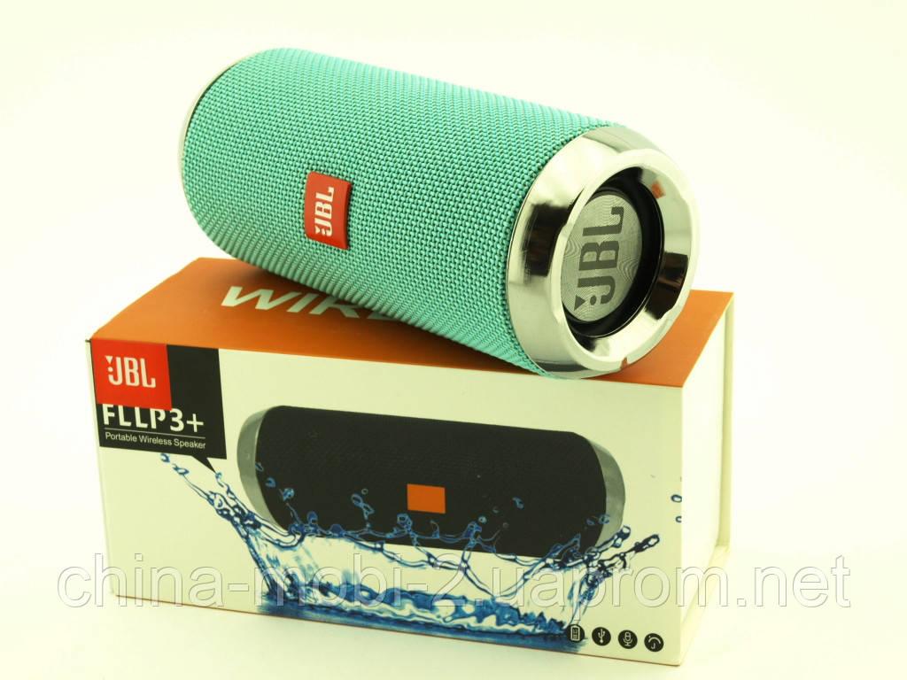JBL FLLP3+ 6W копия Flip3+, Bluetooth колонка с FM MP3, мята