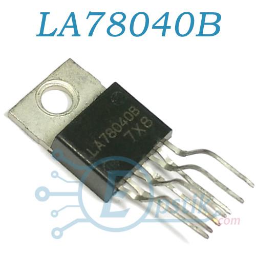 LA78040B, драйвер кадровой развертки ТВ, TO220-7