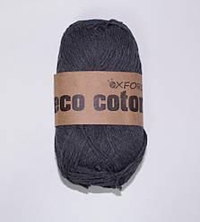 """Oxford Eco cotton """"12"""" Нитки Для Вязания Оптом асфальт"""