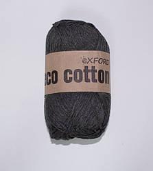 """Oxford Eco cotton """"15"""" Нитки Для Вязания Оптом темно-серый"""