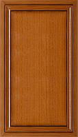 Мебельный фасад из профиля AGT 1032 цвет 240 патина черная глянец