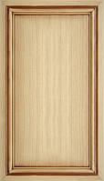 Мебельный фасад из профиля AGT 102 цвет 236 патина коричневая