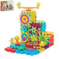 Конструктор Funny Blocks на вращающихся шестеренках, 81 дет., 1224, 007275