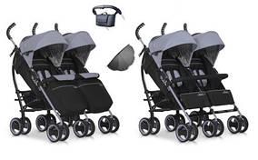 Прогулянкова коляска для двійні EASY GO DUO COMFORT
