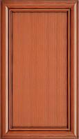 Мебельный фасад из профиля AGT 1035 цвет 210 патина коричневая