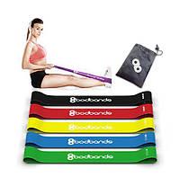 Резиновые ленты(кольца) BodBands 5 шт(комплект)