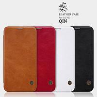 Кожаный чехол Nillkin Qin для LG V30 ( 4 цвета)