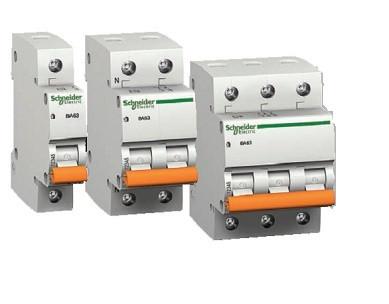 Автоматические выключатели Schneider electric Домовой 4,5кА