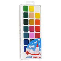 Краски акварельные Чудо-Краски Гамма 24  цветов пластуп 212077