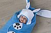 Флисовая шапочка Зайчик, фото 2