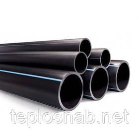 Труба полиэтиленовая водопроводная 25 х 2,3 мм 10 атм.