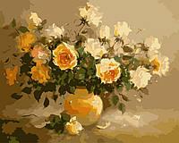 Набор для рисования MENGLEI Сладкий аромат цветов (MG278) 40 х 50 см, фото 1