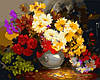 Картина раскраска MENGLEI Горячий букет (MG294) 40 х 50 см