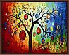 Раскраска по номерам MENGLEI Дерево богатства  (MG230)