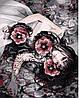 Рисование по номерам MENGLEI Девушка в цветах  (MG272)