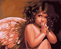 Раскраска по номерам Babylon Ангелочек худ. Ноэл Ненси (MS422) 40 х 50 см