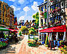 Картина по номерам BABYLON На центральной улочке худ. Парк Сунг Сам (MS128)