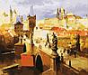 Раскраска по цифрам BABYLON Злата Прага худ. Черныш Андрей (MS412)