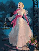 Раскраска по номерам Menglei Сказочная принцесса худ. Фрам, Арт (MMC051) 50 х 65 см