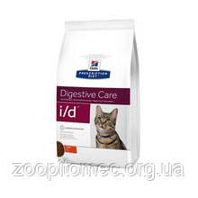 Лечебный корм для котов HILL'S (Хиллс) PD Feline i/d лечение ЖКТ и панкреатит, 1,5 кг