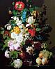 Рисование по номерам BABYLON Натюрморт с персиками худ. Ван Дель Ян Франц (MS435)